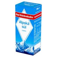 Alpská sůl s jódem 500g