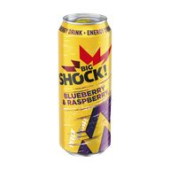 Big Shock Bluberry Rasberry P 500ml