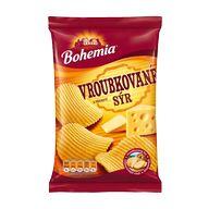 Chips vroubk. sýr Bohem. 70g