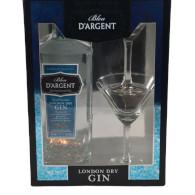 Gin Bleu D´argent 40% 0,7l +2skla
