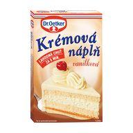 Náplň dort vanilka 65g OET XK