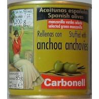 Olivy Z s ančovičkou 200g MARESI