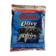 Olivy černé bez pecky Giana 180g PP 70g