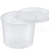 Miska polévka + víčko 50ks PAP