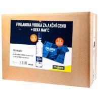 Set Finlandia 4x1l + deka