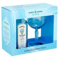 Gin Bombay Saphhire 40% 0,7l + sklo