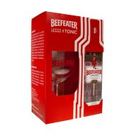 Gin Beefeater 40% 0,7l + 1sklo 2019