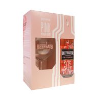 Gin Beefeater Pink 40% 0,7l + 1sklo 2019