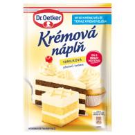 Krémová náplň vanilková 65g OET
